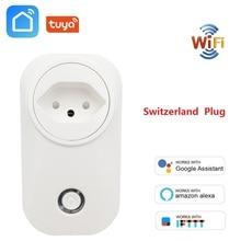 スイスプラグ無線 LAN スマートソケットワイヤレス CH 出口チュウヤスマートライフ電源モニタ用 Alexa Google ホーム IFTTT