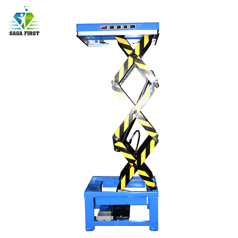 CE Scissor Stage Lift Stage For Auto Show Hydraulic