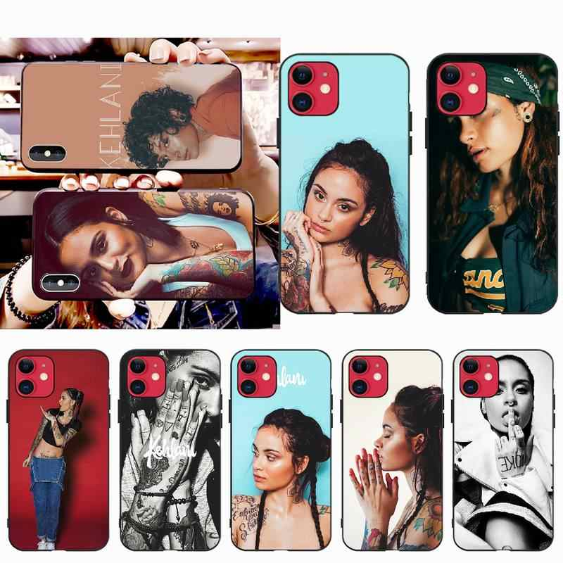 NBDRUICAI Kehlani DIY Painted Bling Phone Case for iPhone 11 pro XS MAX 8 7 6 6S Plus X 5S SE XR case