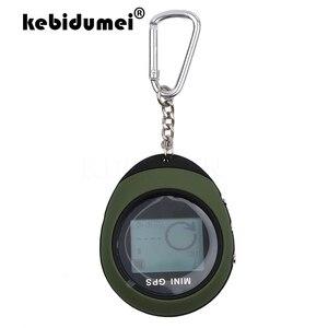 Image 1 - Kebidumei Handheld Mini nawigacja GPS USB akumulator monitor lokalizacji z kompasem do wspinaczki na zewnątrz uniwersalny