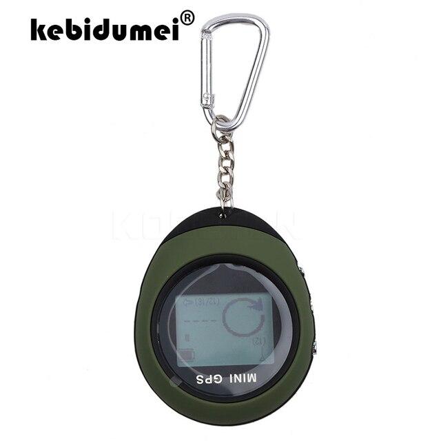 Kebidumei Handheld Mini nawigacja GPS USB akumulator monitor lokalizacji z kompasem do wspinaczki na zewnątrz uniwersalny