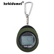 Kebidumei Mini navegador GPS de mano, rastreador de ubicación recargable por USB con brújula para viajes al aire libre, escalada Universal