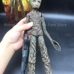 Image 5 - 30cm Neue Film Die Galaxy Avengers Hero Baum Mann Action figuren PVC Statue Sammlung Spielzeug Geschenke