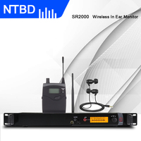 NTBD Stage Performance Sound Broadcast SR2000 Professional Wireless In Ear Monitor System Single Transmitter Original Sound