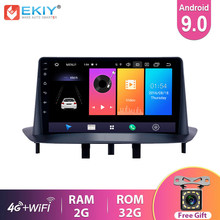 Автомагнитола EKIY 9 ''IPS Android 9,0 для Renault Megane 3 2009-2014, навигация GPS, мультимедиа, видео плеер, Wi-Fi, BT стерео 2Din DVD
