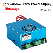 Ultrarayc 50W CO2 Laser Power Supply for CO2 Laser Engraving Cutting Machine MYJG-50 цены