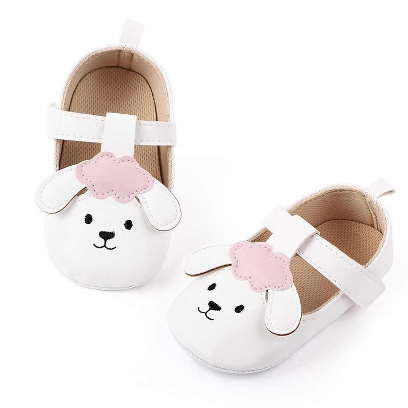 Leuke Cartoon Baby Meisje Schoenen Eerste Wandelaars Pu Leer Pasgeboren Baby Schoenen Soft Sole Antislip Peuter Meisjes Schoenen schoenen
