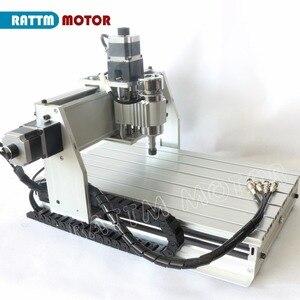 Image 3 - RU เรือเดสก์ท็อป 3 แกน CNC 3040Z DQ 300W แกน Ballscrew CNC ROUTER แกะสลัก/แกะสลักเครื่องกัดเจาะ 220 v/110 V