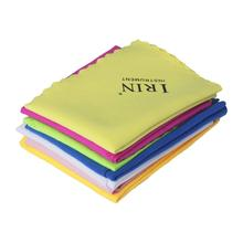 IRIN 7 Pcs Universal Microfiber Cleaning Polishing Cloth for Musical Instrument Guitar Violin Piano Clarinet Trumpet Sax b fairchild 3 pieces for clarinet and piano op 12