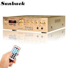 1200w 5 canais bluetooth5.0 fm amplificador estéreo de alta fidelidade led digital karaoke casa cinema amplificadores de teatro em casa