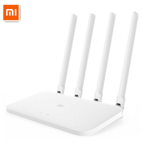 Original Xiaomi Wifi Router 4C High-Speed Wifi  2.4G/5G 1200Mbps 4 Antennas Smart APP Control Band Wireless Routers Repeater