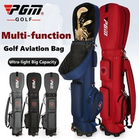 PGM Golf Aviation Bag with Wheels Multi Function Ultra light Golf Bag Travel Bag Large Capacity Golf Standard Ball Bags Storage