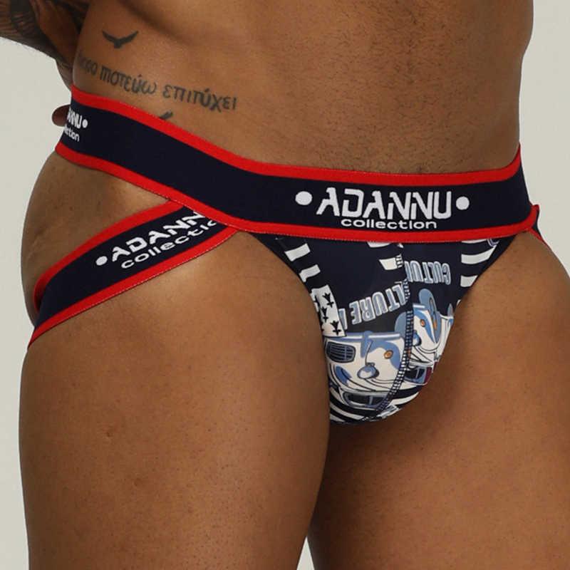 ADANNU العلامة التجارية الذكور الملابس الداخلية للرجال حزام الوقاية مثير مثلي الجنس سيور الرجال g-سلسلة cueca تنجا ذكر سراويل تنفس الشبقية مثلي الجنس بيكيني