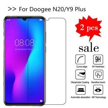 Перейти на Алиэкспресс и купить 2 шт Стекло Для Doogee N20 6,3 дюймовый защитный экран закаленное стекло Для Doogee Y9 Plus защитная пленка