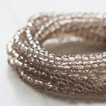 BEAUCHAMP крошечные 2 мм 190 шт хрустальные бусины, граненые серьги, бисероплетение, браслет, ожерелье, шитье, бант, ювелирные изделия, аксессуары
