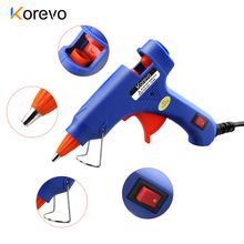 Glue-Gun Pneumatic-Heater Glue-Stick-15cm Hot-Melt Home 20W with 20pcs for Chrismas Decoration-Tool