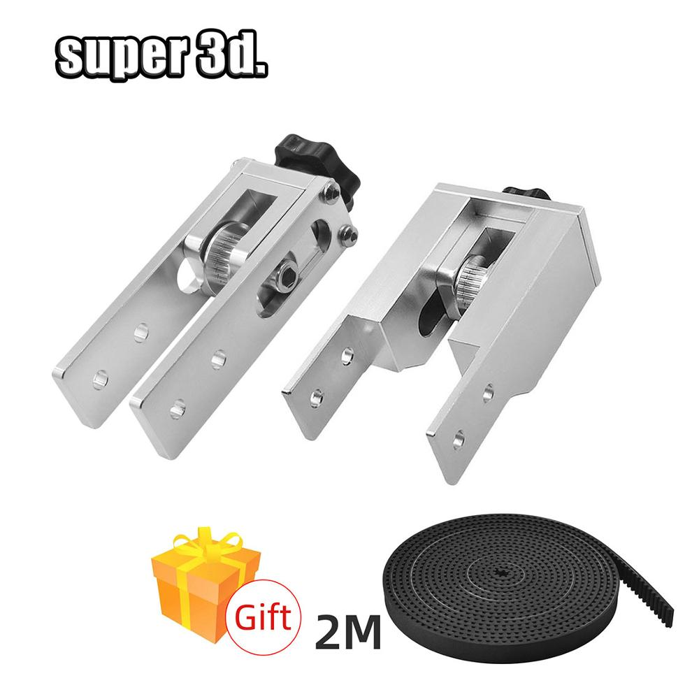 2020 &2040 timing belt Stretch tensioner set for tighten v slot aluminum profile mails 3d printer alfawise u30 Anet CNC Parts
