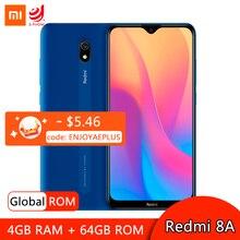 Global ROM Xiaomi Redmi 8A 8 A 4GB 64GB Smartphone Snapdargon 439 Octa Core Mobile Phone 5000mAh Fast Charge 12MP Rear Camera