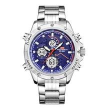 Kt1805 Double Machine Core Function Electronic Shi Ying Watch Luminous Alloy Ste