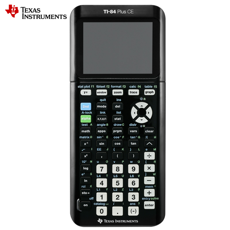 Texas Instruments TI-84 PLUS CE Programming Graphing Calculator AP IB SAT International Exam Computer