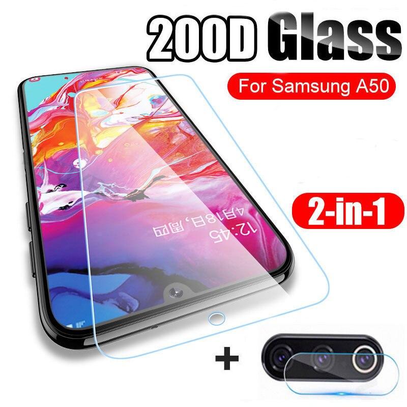 Tempered Glass For Samsung Galaxy A50 A70 A40 Protective Glass For Galaxy A30 A20e A60 A80 A10 Screen Protector Camera Lens Film