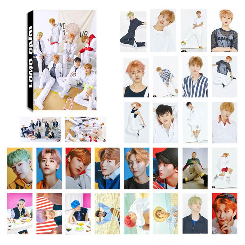 30Pcs/Set KPOP NCT Dream Photo Card Poster Lomo Cards Self Made Paper Photocard Fans Gift Collection