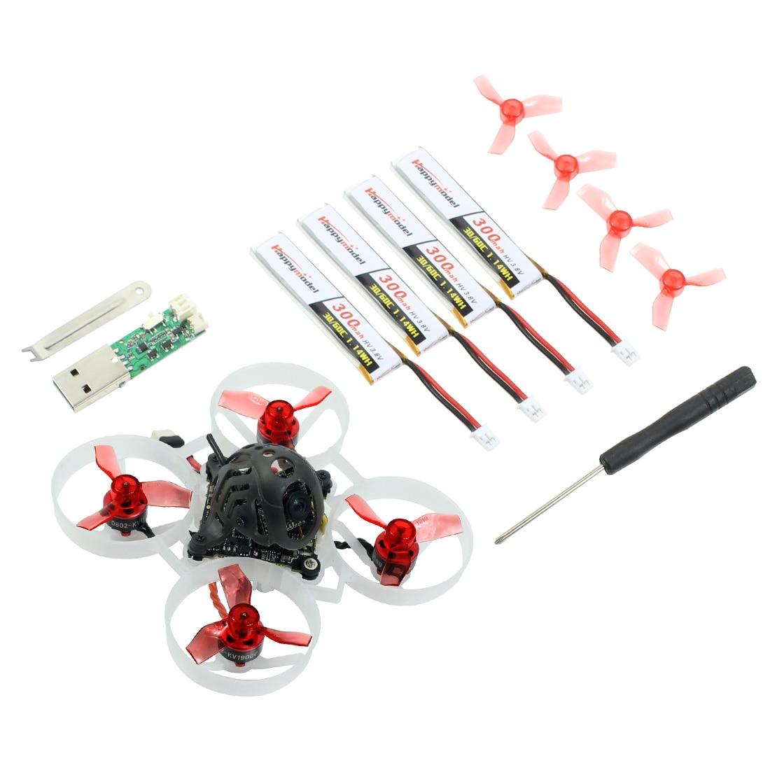 Happymodel Mobula6 Mobula 6 1S 65mm Drone de course sans brosse FPV avec 4in1 crazy ybee F4 Lite Runcam Nano3 pré-commande RC Dron