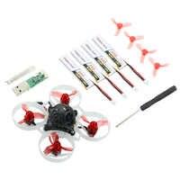 Happymodel Mobula6 Mobula 6 1S 65mm sin escobillas Bwhoop Dron de carreras con visión en primera persona con 4in1 Crazybee F4 Lite Runcam Nano3 Pre-pedido RC
