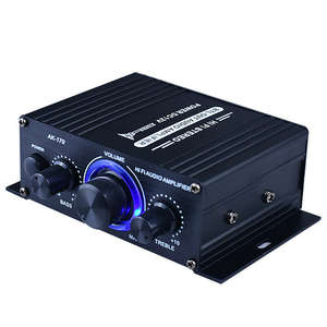 Subwoofer Amplifier Sound-System Audio Professional Theater New 400W Home No Mini