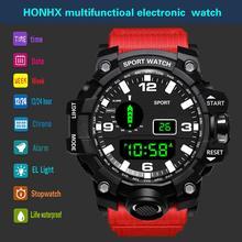 HONHX Casual Sport Luxury Mens Digital LED Watch Date Sport