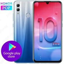 HONOR 10 Lite, мобильный телефон, 6,2 дюймов, 2340X1080, полный экран, 4 ГБ/6 ГБ ОЗУ, Android 9,0, 24 МП, AI камера, сканер отпечатков пальцев, смартфон