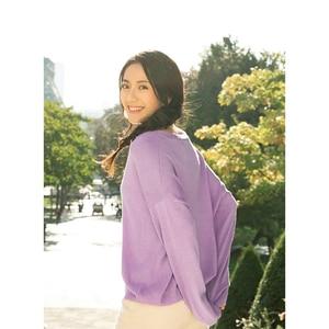 Image 3 - Inman decote em v bordado literário retro moda tudo combinado curto cardigan feminino