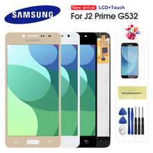 For Samsung Galaxy J2 Prime G532 SM-G532 SM-G532F G532F LCD Display Touch Screen Digitizer With Frame Can Adjust Brightness(China)