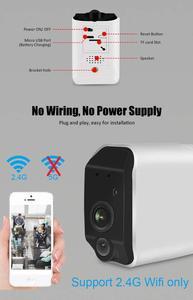 Image 2 - אבטחה אלחוטית מצלמה, 1080P WiFi סוללה מצלמה עם דו כיוונית אודיו, IR ראיית לילה, PIR חיישן תנועה, פנימי/חיצוני