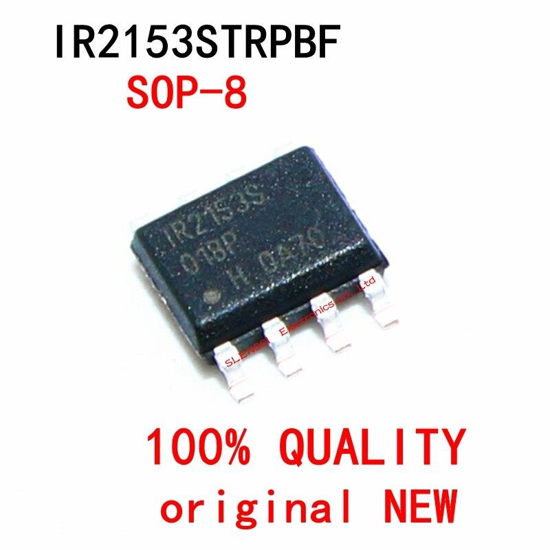 5-10 pçs/lote IR2153STRPBF IR2153STR IR2153s IR2153 SOP-8 Em Estoque