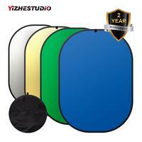 150* 200cm 4in1 chroma key Panel Green Blue Backdrop Collapsible Background Photo Reflector Studio Lighting Control Fotografia