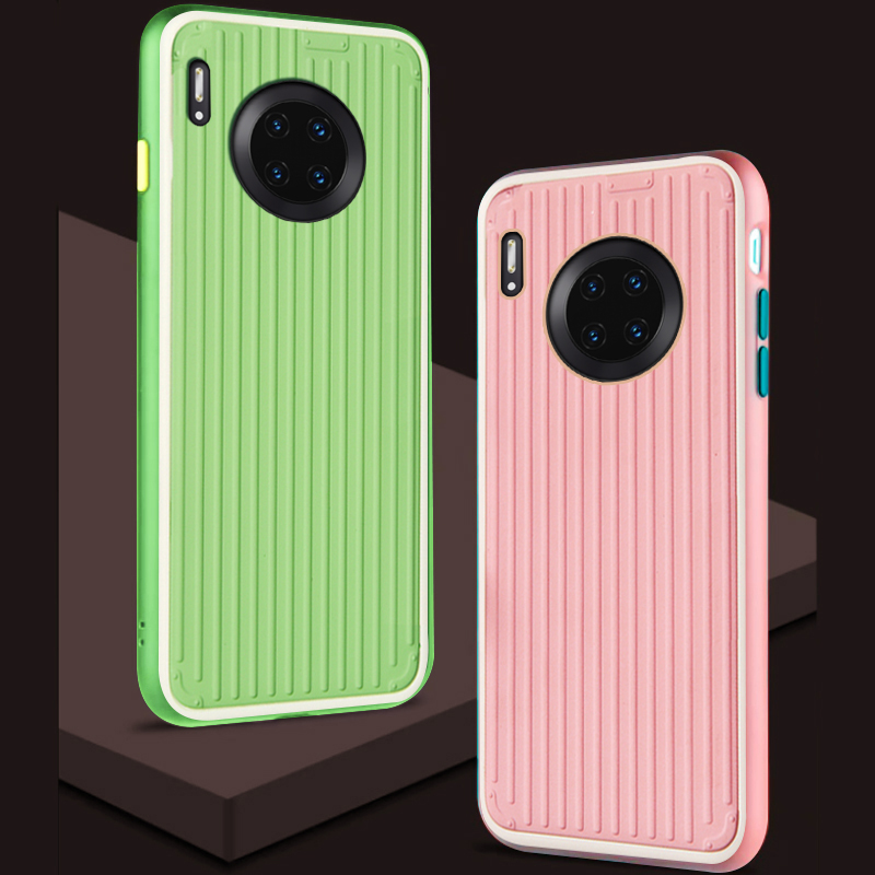 Case,For Huawei Mate 30 Pro Mate30 Lite On Hard Silicone Silicon 3D Luxury Phone Back Cases