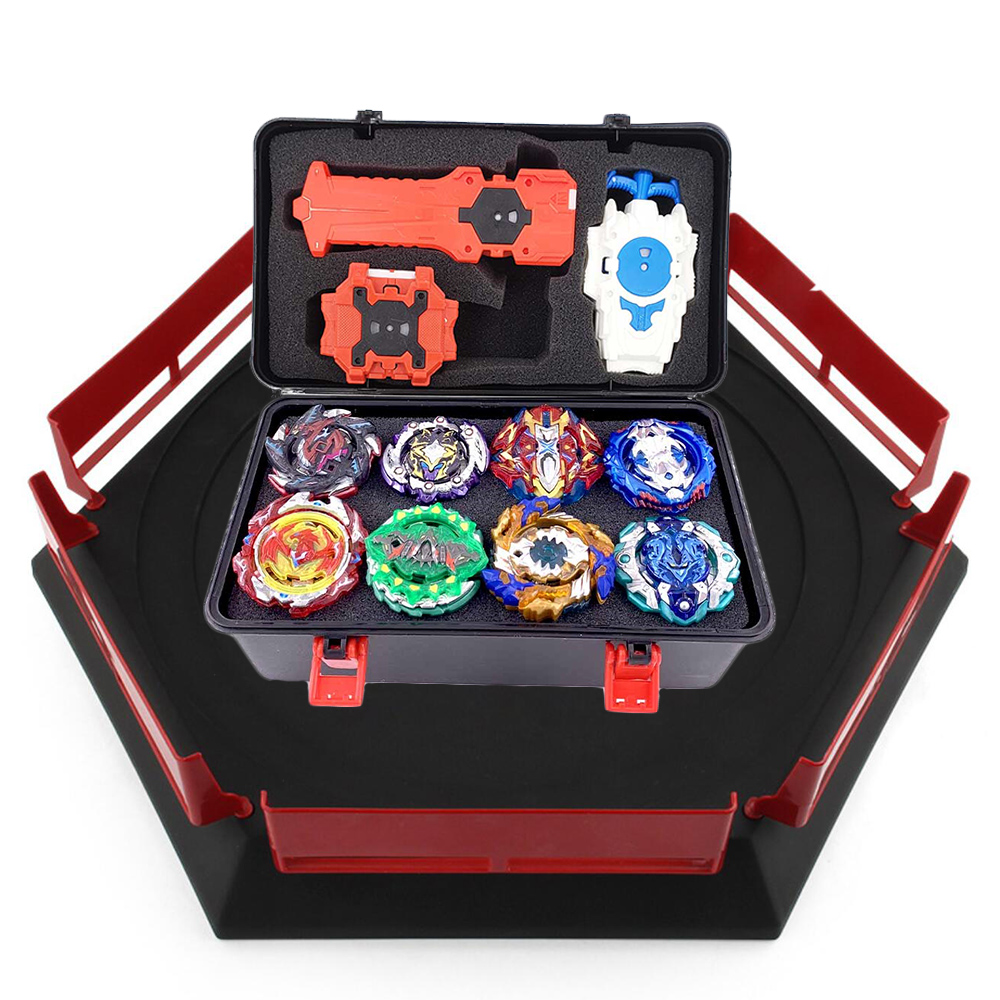 Hot Set Arena Launchers Beyblade Starter Bey Blade Blades Metal Burst Bayblade Stater Set High Performance Battling Top