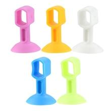 Door-Handle Rubber Bathroom Silicone Anti-Collision Plastic 1piece