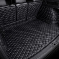 Custom made car trunk mats for BMW X6 E71 E72 F16 all weather case waterproof 6D car styling high quality rugs carpet liners