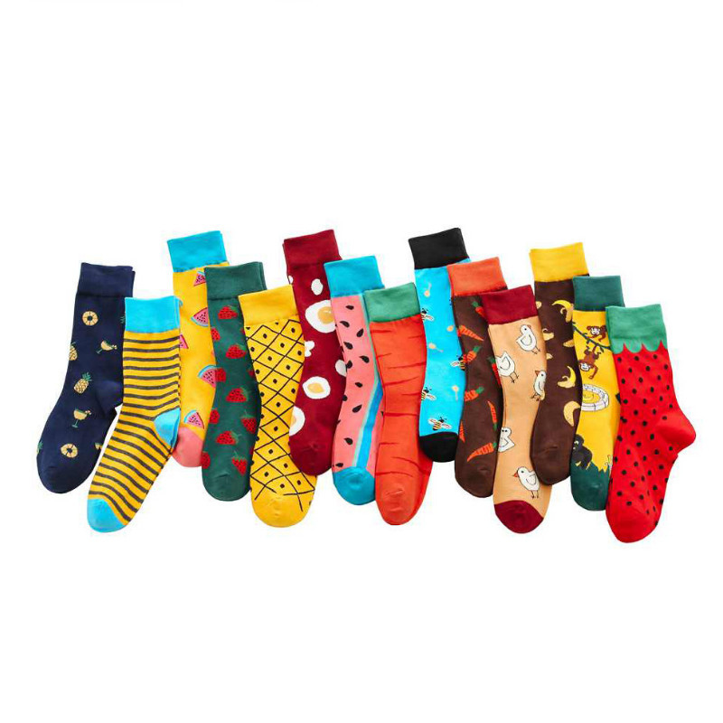 Fashion Fruit  Cute Socks Women Japanese Korean Style Colorful Cotton Funny Socks For Ladies High Quality With Strawberry 113