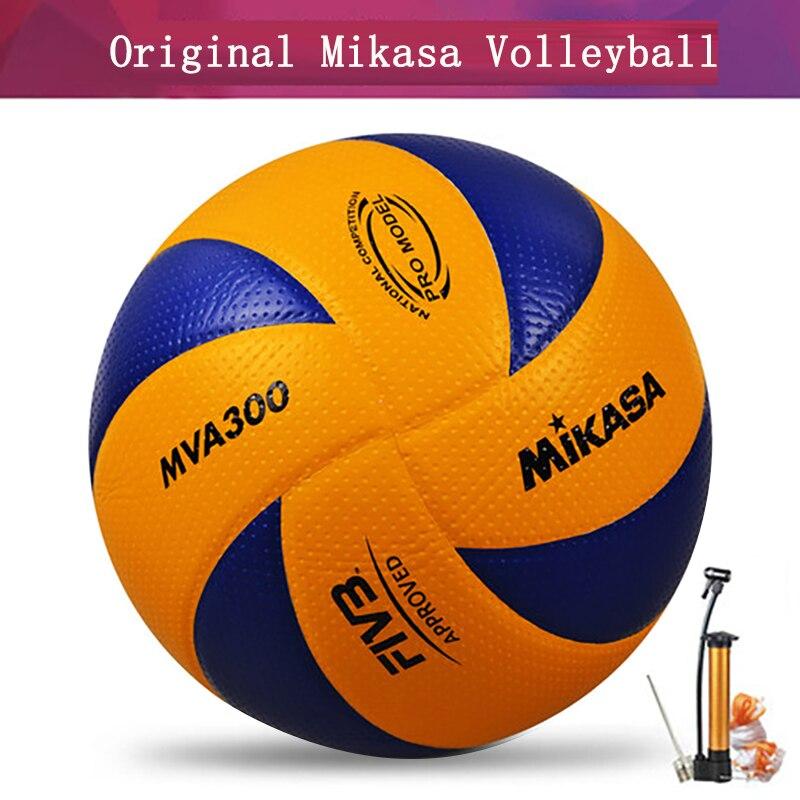 Оригинальный волейбольный мва300 Размер 5 искусственная ткань профессиональный конкурс студенческий Волейбольный мяч для тренировок