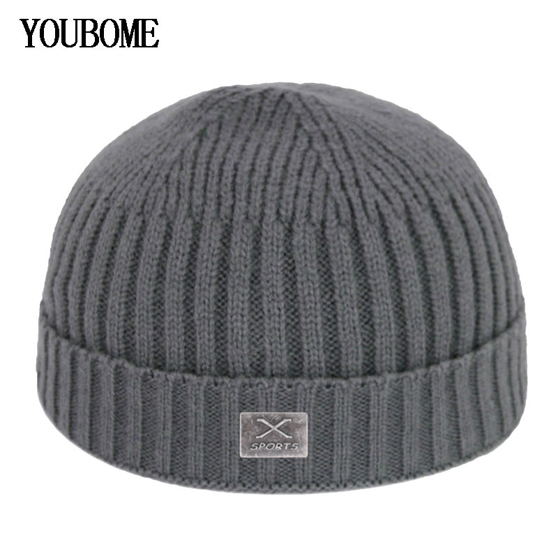 Skullies Beanies Winter Men Knitted Hat Women Winter Hats For Men Winter Cap Miki Docker Skullcap Gorras Bonnet Male Beanie Hat