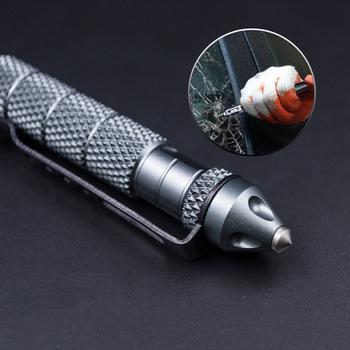 1 sztuka antypoślizgowe metalowe długopisy kreatywne długopisy wielofunkcyjne długopisy dla chłopców prezenty nowość Tactical Protect Tools tanie i dobre opinie Moonovol CN (pochodzenie) 1 0mm Other Creative Pen Cute Ballpoint Pens Ball Pens Metal Pen