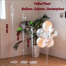 Прозрачный воздушный шар с основанием вечерние поплавок для стола Детский воздушный шар прочный 1 м/1,3 м/1,6 м свадебное украшение день рождения