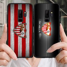 Phone Case Banega For Samsung Galaxy S10 S7 Edge DIY Transparent Soft TPU Sevilla FC For S7 S9 A5 A7 A8 J7 Prime Note 9 Note10 sevilla fc real sociedad