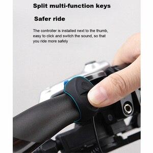 Image 5 - Dành Cho Xiaomi Mijia M365 Xe Điện Chuông Điện Tử Sạc USB Chống Nước Sừng Cho MTB Xe Đạp Đường Bộ 3 Chế Độ Vòng Xe Đạp báo Động
