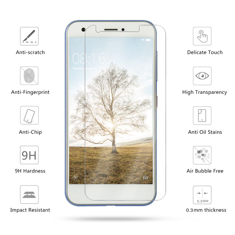 9H HD Tempered Glass For ZTE Blade A910 A610 Plus A601 A452 A320 A310 A1 Screen Protector For ZTE Grand X4 Protective Glass