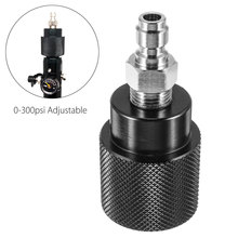 Refill-Adapter-Regulator Paintball-Accessories Air-Compressed-Tank 0-300psi Adjustable