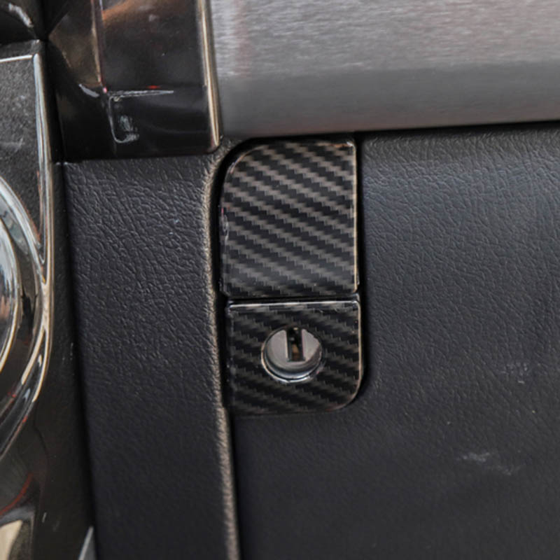 For toyota <font><b>4runner</b></font> 4 runner front seats tooling storage box knob handles decorarive trim frame Interior accessories <font><b>2010</b></font>+ image